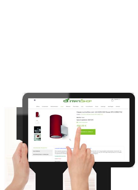 Vendita online arredamento afinterni shop lo shop for Shopping online arredamento